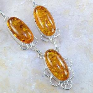 Amb 052c collier parure sautoir ambre amber baltique baltic achat vente bijoux argent 925 1
