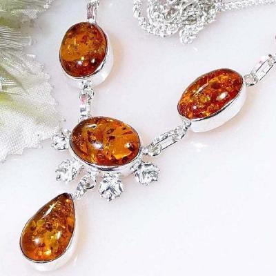 Amb 073b collier parure ambre amber baltique baltic achat vente bijoux argent 925