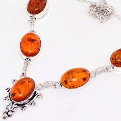 Amb 086b collier parure 16gr parure ambre baltique achat vente bijoux argent 925