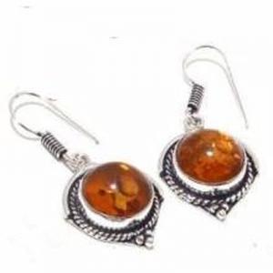 Amb 088c collier boucles oreilles 26gr 12mm parure ambre baltique achat vente bijoux argent 925