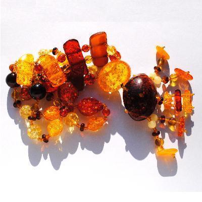 Amb 120d collier 119gr parure sautoir ambre amber baltique baltic achat vente bijoux argent 925