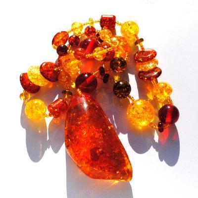 Amb 121d collier 98gr parure sautoir ambre amber baltique baltic achat vente bijoux argent 925