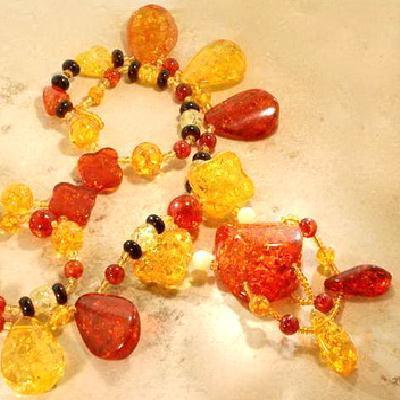 Amb 137c collier 80gr 75cm parure sautoir ambre amber baltique baltic achat vente bijoux argent 925
