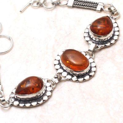 Amb 152b bracelet 15gr 10x15mm ambre amber baltique achat vente bijoux argent 925