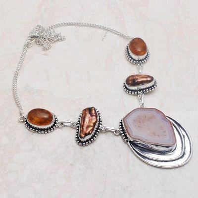 Amb 156a collier pendant agate 40gr ambre amber baltique achat vente bijoux argent 925