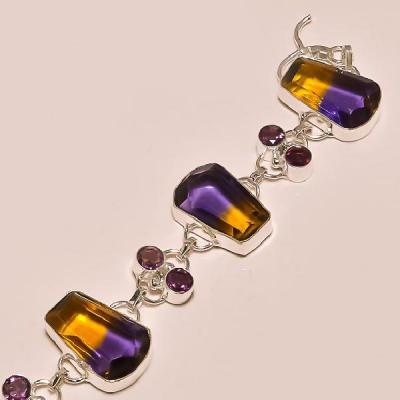 Ame 151b bracelet ametrine achat vente bijou argent 925