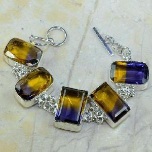Ame 344a bracelet ametrine achat vente bijou argent 925