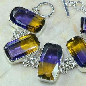 Ame 345b bracelet ametrine achat vente bijou argent 925