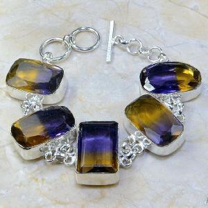 Ame 348a bracelet ametrine achat vente bijou argent 925