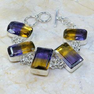 Ame 351a bracelet ametrine achat vente bijou argent 925