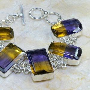 Ame 351b bracelet ametrine achat vente bijou argent 925