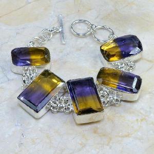 Ame 351c bracelet ametrine achat vente bijou argent 925