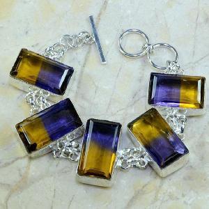 Ame 352a bracelet ametrine achat vente bijou argent 925