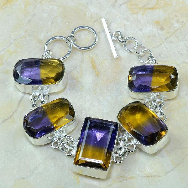 Ame 353a bracelet ametrine achat vente bijou argent 925