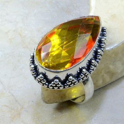 Ame 409a bague t60 ametrine lemontrine achat vente bijou argent 925