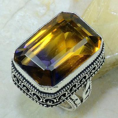 Ame 422a bague t57 ametrine achat vente bijou argent 925