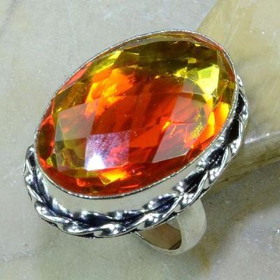 Ame 424a bague t61 lemontrine ametrine citrine argent 925 bijoux achat vente 1