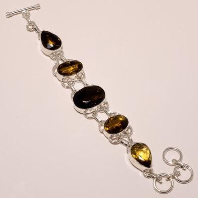 Ame 448a bracelet ametrine lemontrine achat vente bijou argent 925