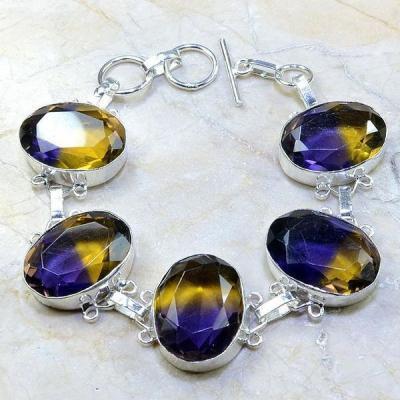 Ame 466a bracelet ametrine achat vente bijou argent 925