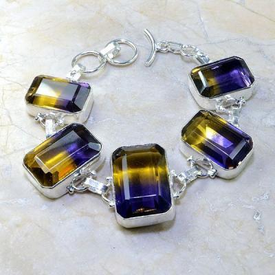 Ame 501a bracelet ametrine achat vente bijou argent 925