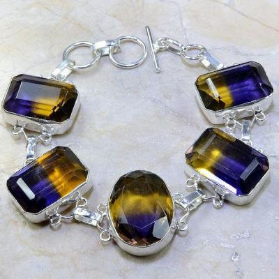 Ame 511a bracelet ametrine achat vente bijou argent 925