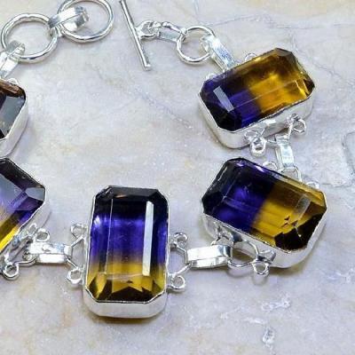 Ame 513c bracelet ametrine achat vente bijou argent 925