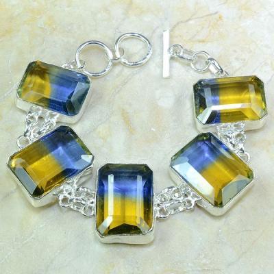 Ame 520a bracelet ametrine achat vente bijou monture argent 925