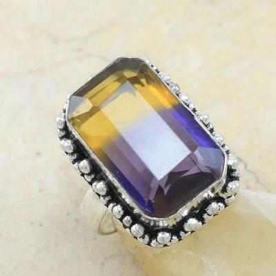 Ame 538a bague t62 ametrine achat vente bijou monture argent 925
