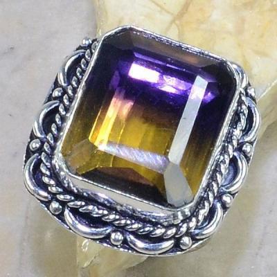 Ame 539a bague t61 ametrine achat vente bijou monture argent 925