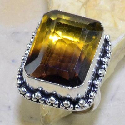 Ame 541a bague t57 ametrine achat vente bijou monture argent 925