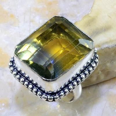 Ame 654a bague t53 ametrine citrine amethyste achat vente bijou monture argent 925