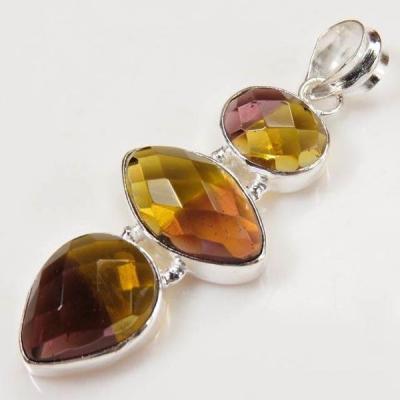 Ame 700a pendentif pendant ametrine citrine amethyste achat vente bijou monture argent 925