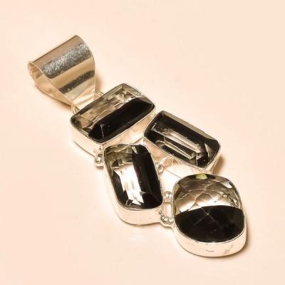 Ame 708a boucles pendants oreilles ametrine quartz noir achat vente bijou argent 925