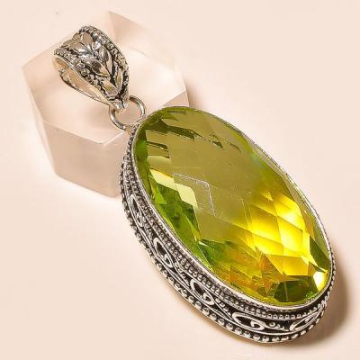 Ame 729a pendentif pendant ametrine lemontrine achat vente bijou monture argent 925