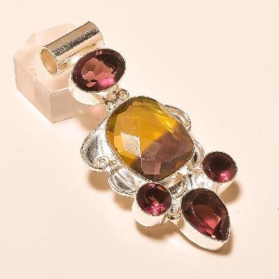 Ame 733a pendentif pendant ametrine amethyste achat vente bijou monture argent 925