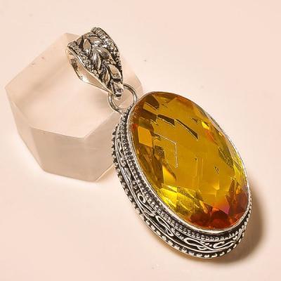 Ame 761a pendentif pendant ametrine tourmaline achat vente bijou monture argent 925