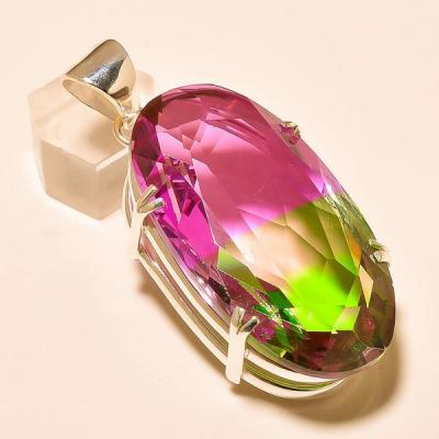 Ame 762a pendentif pendant ametrine tourmaline achat vente bijou monture argent 925
