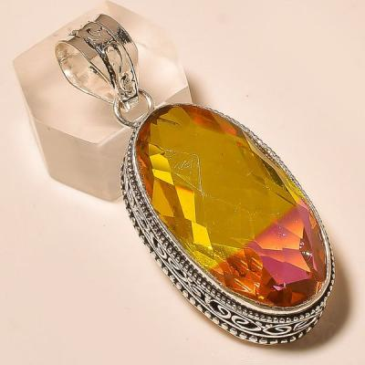 Ame 764a pendentif pendant ametrine tourmaline achat vente bijou monture argent 925