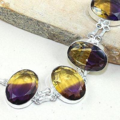 Ame 770b bracelet ametrine bolivie achat vente bijou monture argent 925