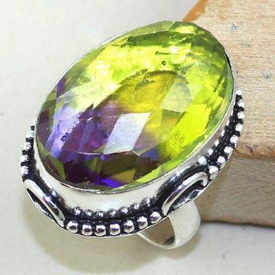Ame 773a bague t58 ametrine citrine lemontrine achat vente bijou monture argent 925