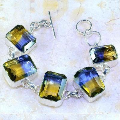 Ame 825a bracelet ametrine bolivie achat vente bijou monture argent 925