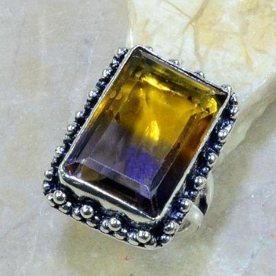 Ame 833c bague t57 ametrine achat vente bijou argent 925