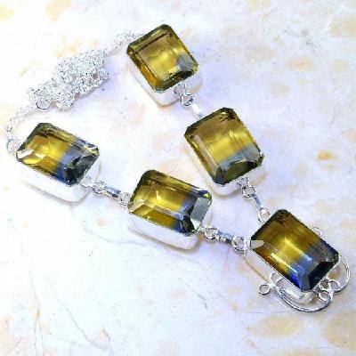 Ame 857a collier boucles parure ametrine amethyste achat vente bijou argent 925