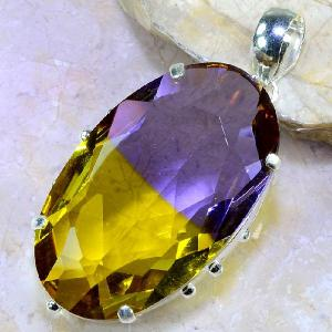 Ame 880b pendentif pendant ametrine pierre lithotherapie reiki achat vente mineraux