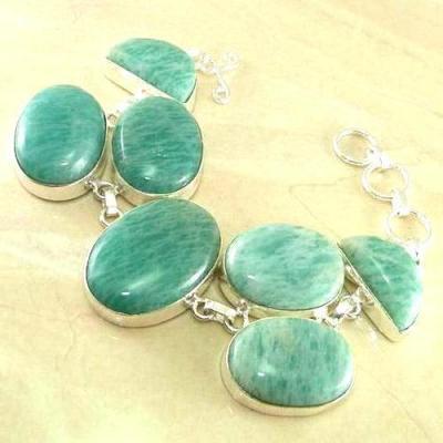 Amz 001a bracelet amazonite 53gr achat vente bijou argent 925
