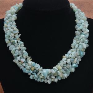 Amz 003a collier parure amazonite achat vente bijou argent 925