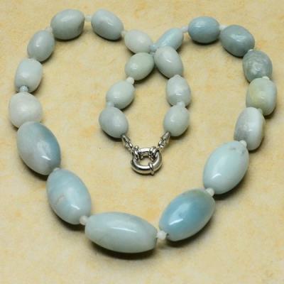 Amz 004b collier parure amazonite achat vente bijou argent 925