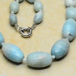 Amz 004c collier parure amazonite achat vente bijou argent 925