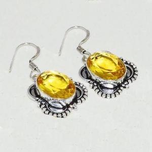 Amz 118c collier boucles oreilles amazonite citrine achat bijou argent 925