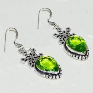 Amz 123c collier boucles oreilles amazonite peridot achat bijou argent 925